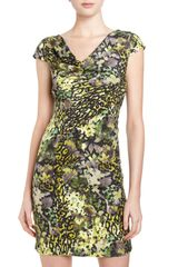 Marc New York By Andrew Marc English Garden Cap Sleeve Dress - Lyst