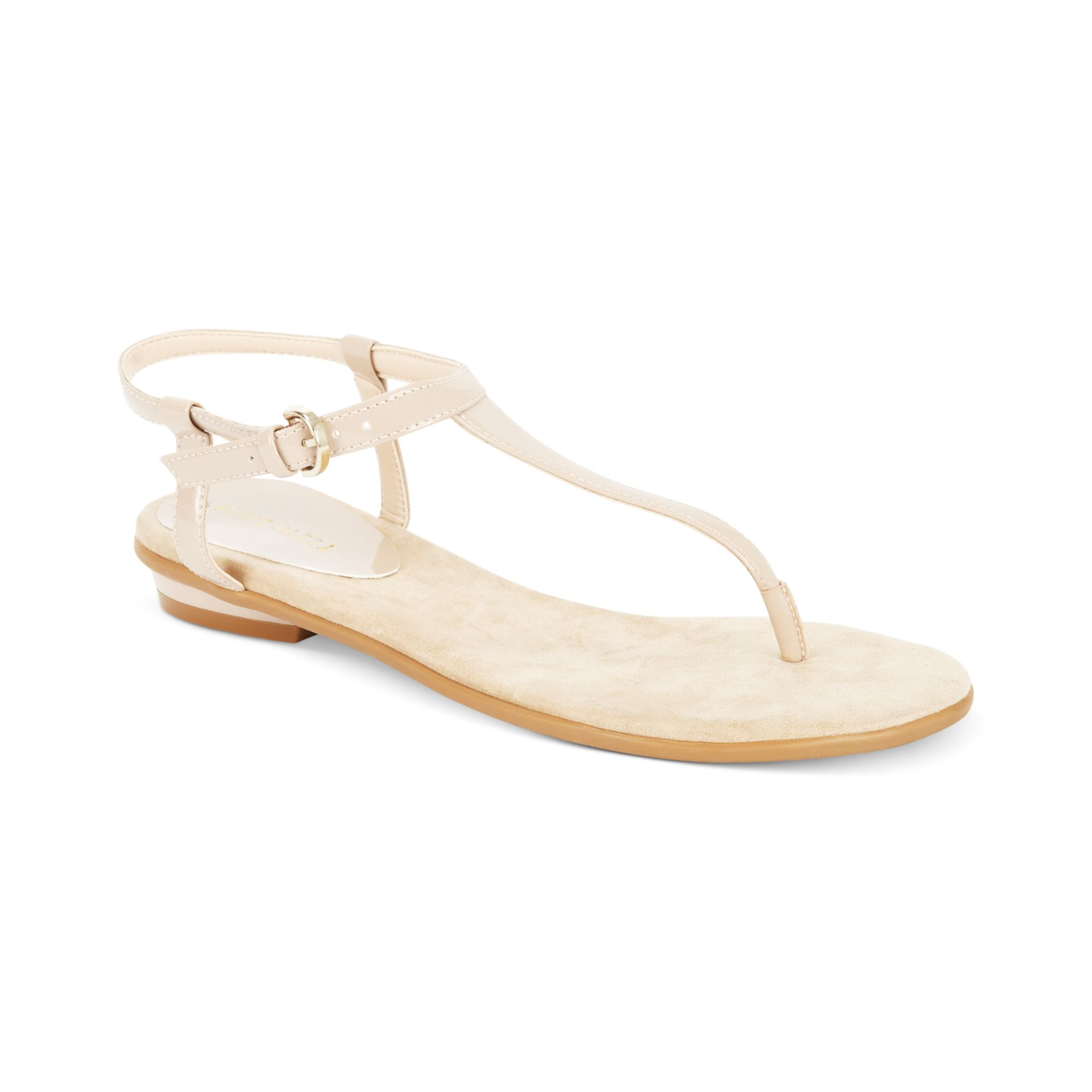 46bdc3397a90 Lyst nine west izzelly flat thong sandals in natural jpg 2000x2000 Beige thong  sandals