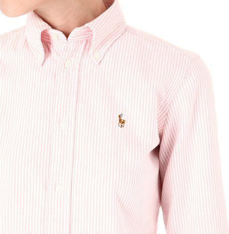 Pink Oxford Shirt Shirt in Pink For Men Bsr