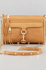 Rebecca Minkoff Mini Mac Crossbody Bag Tawny - Lyst