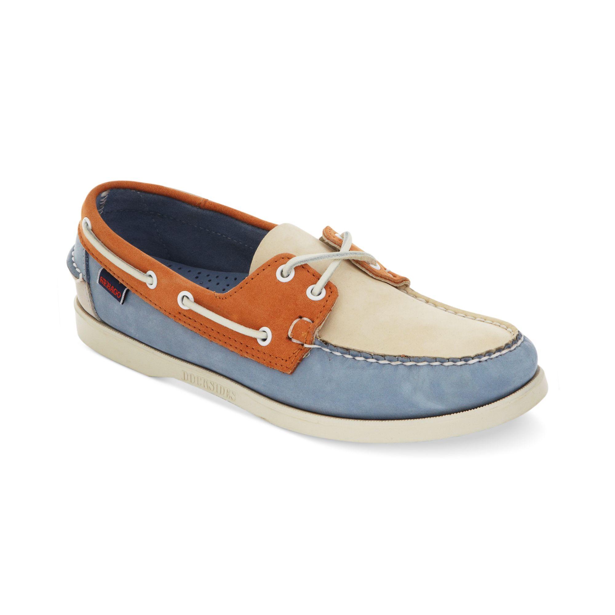 Spinnaker boat shoes - Blue Sebago AS1PKotX