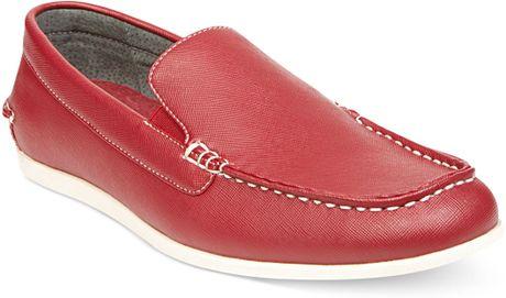 Steve Madden Madden Mens Shoes Grens Slipon Loafers In Black For Men