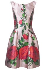 Blumarine Floral Print Dress - Lyst