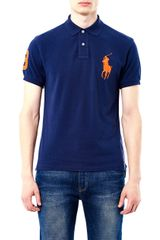Polo Ralph Lauren Large Pony Slim-fit Polo Shirt - Lyst