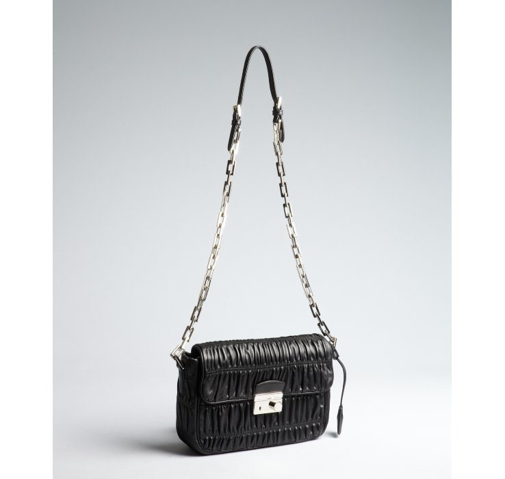 Prada Handbag With Chain Strap