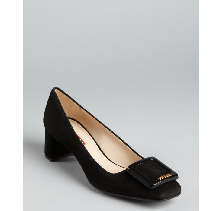 discount Manchester sale new Prada Sport Patent Leather Buckle Pumps low price fee shipping for sale discount exclusive TthT3aM1