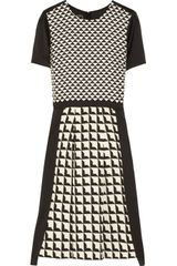 By Malene Birger Bianta Printed Crepe Dress - Lyst