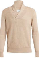 Maison Martin Margiela Ribbed Wool Knit Top - Lyst