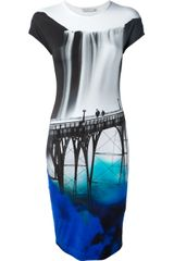 Mary Katrantzou San Fran Jersey Dress - Lyst