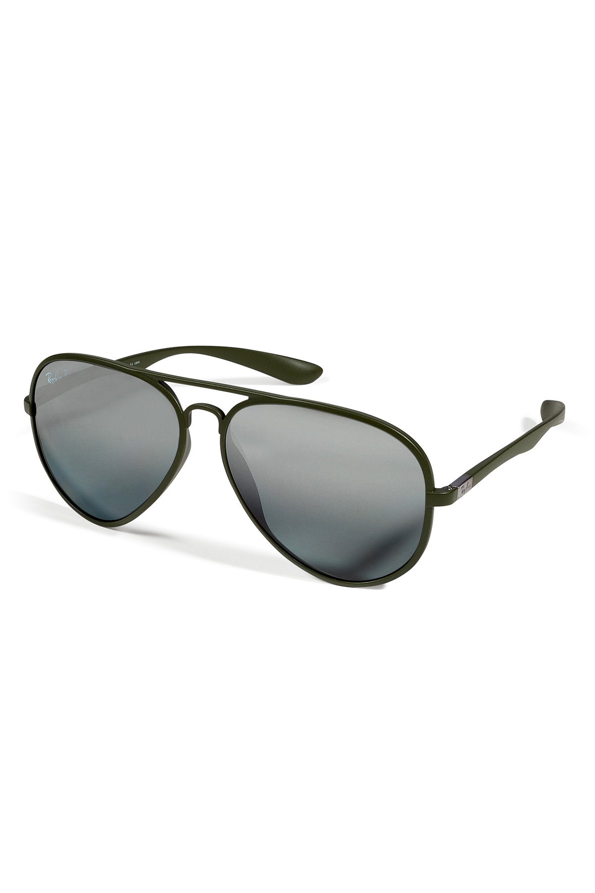 6a9df0f58e ... shopping ray ban matte green liteforce aviator tech polarized sunglasses  in 69fa2 ce6c1