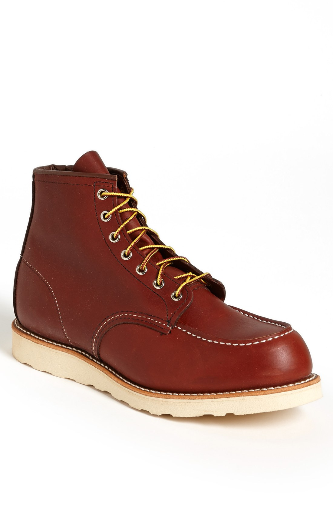Red Wing Moc Toe Boot In Brown For Men Copper Lyst