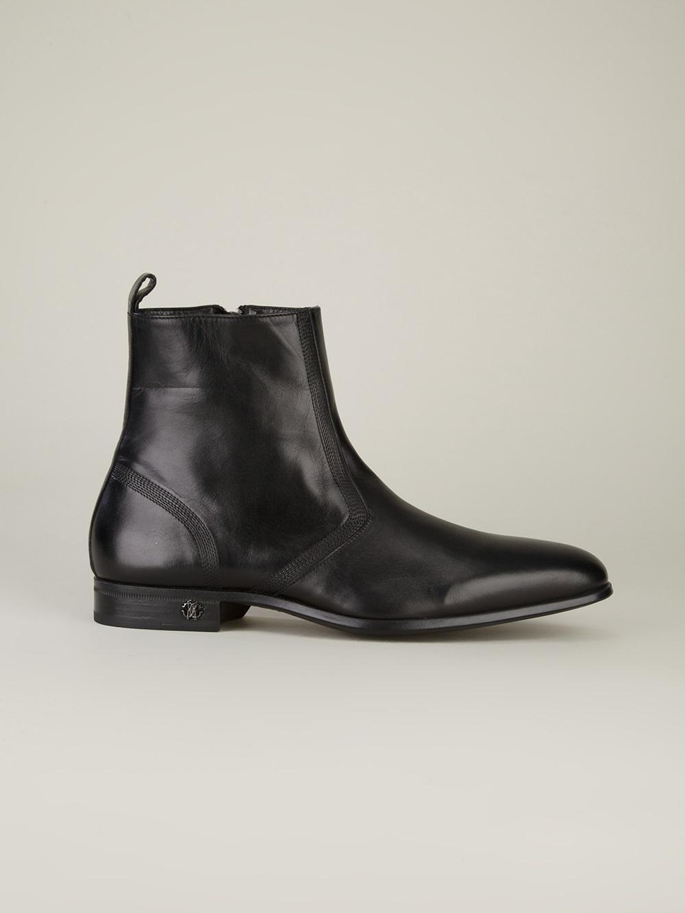 Roberto CavalliZipped ankle boots PRwdBZngPa