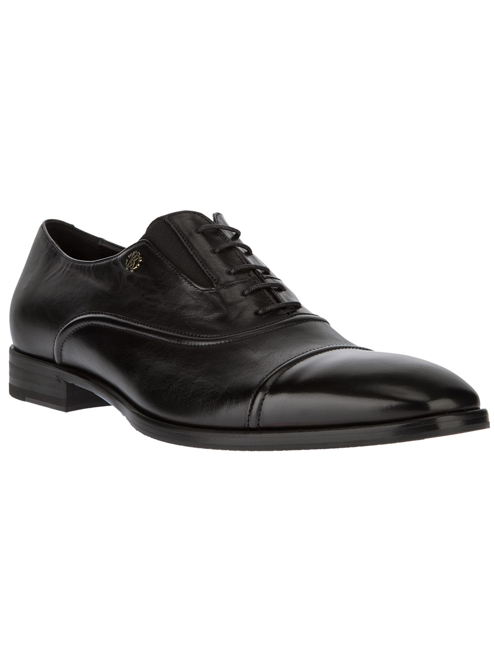 Lyst Roberto Cavalli Oxford Shoe In Black For Men