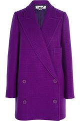 Stella McCartney Edith Doublebreasted Wool Coat - Lyst