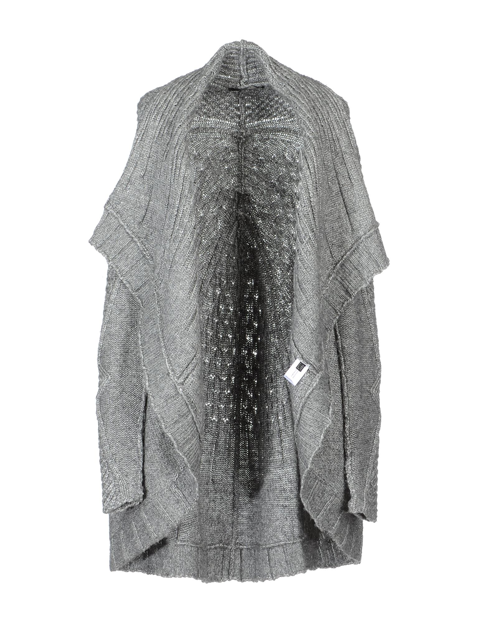 marith et fran ois girbaud cardigan in gray lyst. Black Bedroom Furniture Sets. Home Design Ideas