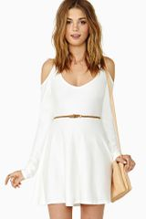 Nasty Gal Close Friends Skater Dress - Lyst