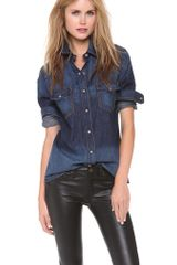 Rag & Bone The Western Shirt - Lyst
