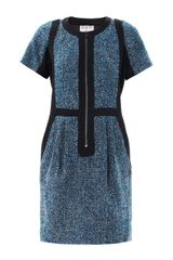 Sea Tweedy Dots Wool Dress - Lyst