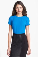 Ted Baker Seam Detail Top - Lyst