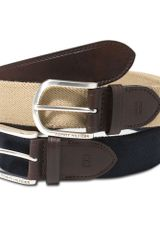 Tommy Hilfiger Stretch Fabric Casual Belt - Lyst