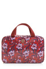 Tory Burch Hanging Zip Cosmetic Case - Lyst