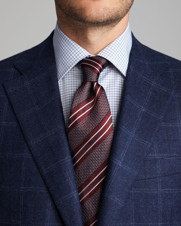 Canali Windowpane Sport Coat Regular Fit for Men | Lyst
