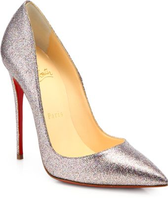 Christian Louboutin So Kate Glitter Pumps - Lyst