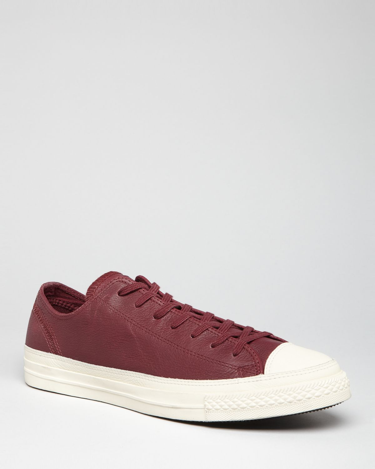 huge discount b6094 b488b Converse Chuck Taylor All Star Lp Ii Leather Sneakers in Red for Men ...