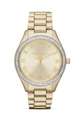 Michael Kors Exclusive Mid-size Gold Tone Blake Three-hand Glitz Watch  - Lyst