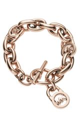 Michael Kors Toggle Bracelet - Lyst