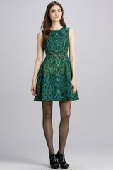 Nanette Lepore Mystical Printed Sleeveless Dress - Lyst