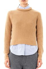 3.1 Phillip Lim Crewneck Wool Sweater - Lyst
