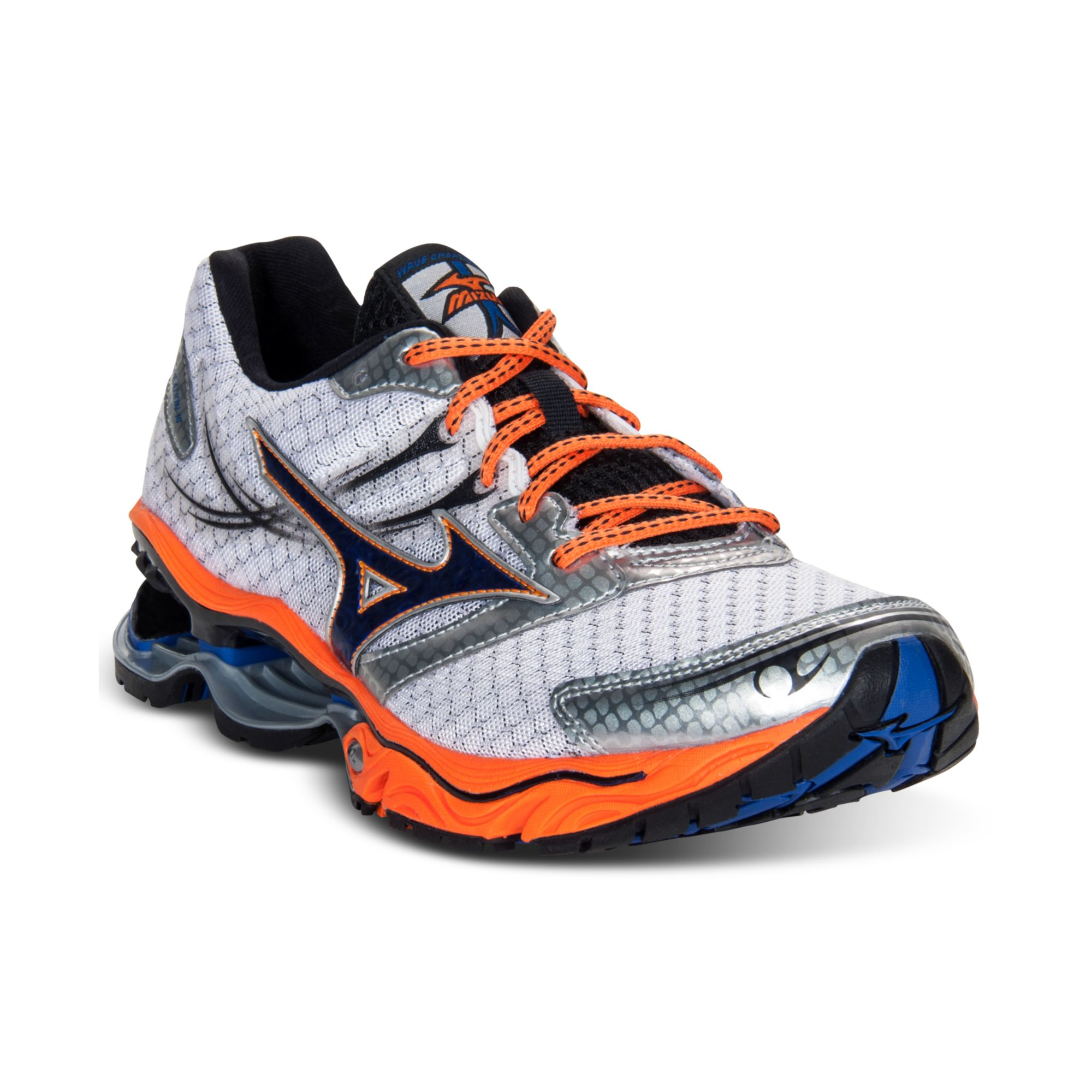 check out 3c6cc bbbf2 Mizuno Wave Creation 14 Running Sneakers in Blue for Men - Lyst
