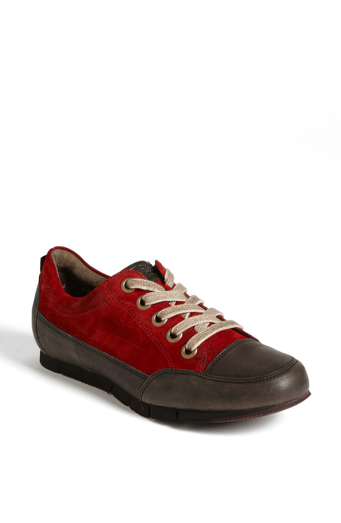 paul green posh sneaker in red lyst. Black Bedroom Furniture Sets. Home Design Ideas