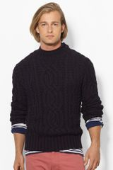 Polo Ralph Lauren Cotton Rollneck Sweater - Lyst