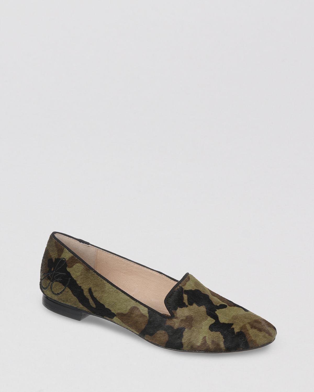 Camo Flats Shoes