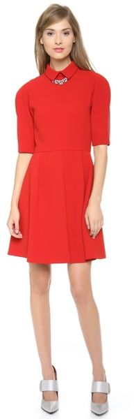 Jill Stuart Petra Collar Dress - Lyst