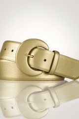 Lauren by Ralph Lauren Leather Cbuckle Belt - Lyst