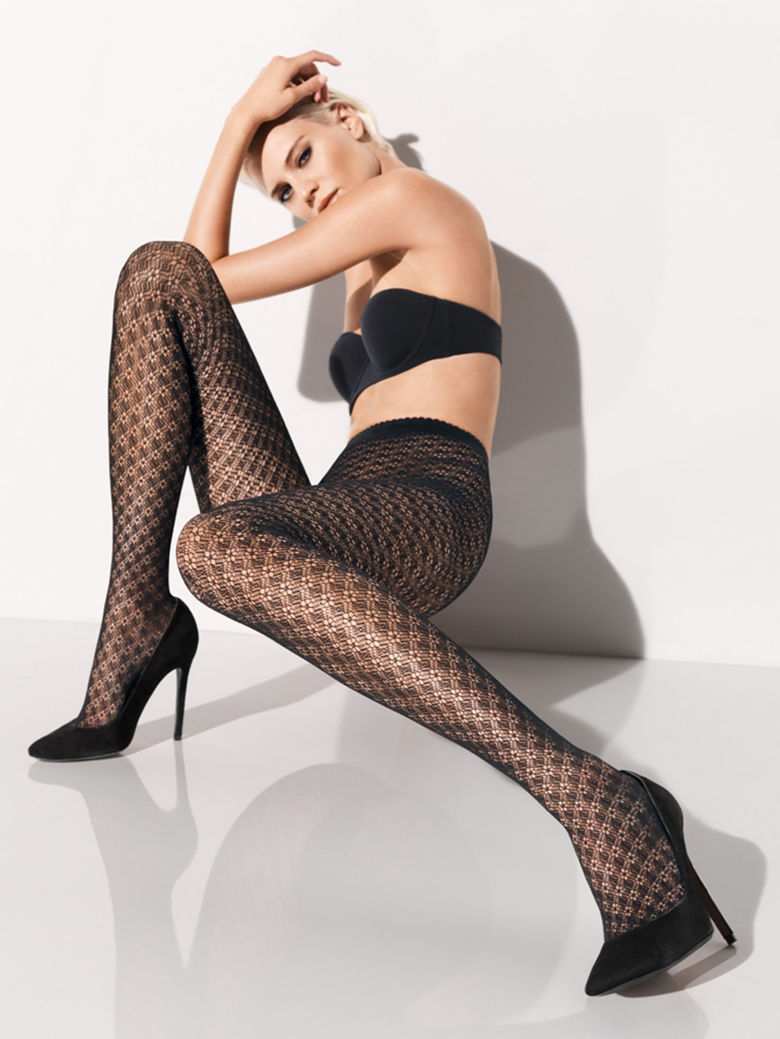 Home Lingerie & Underwear Womens Lingerie Stockings & BodystockingsBlack Patterned Net Pantyhose. Black Patterned Net Pantyhose. R In stock. Add to cart. Size Guide Delivery & Return. Report Abuse. Report an abuse for product Black Patterned Net Pantyhose.