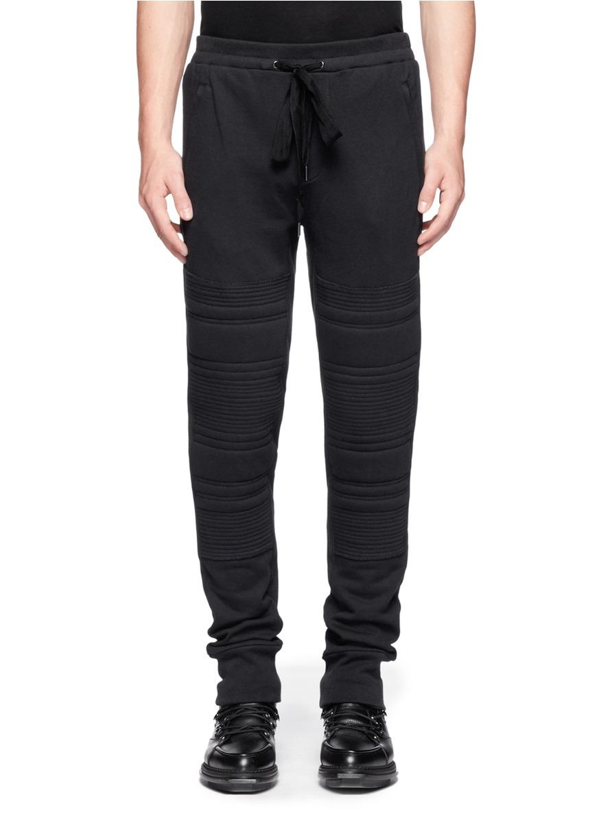 3.1 Phillip Lim Cotton Jogging Pants in Black for Men   Lyst