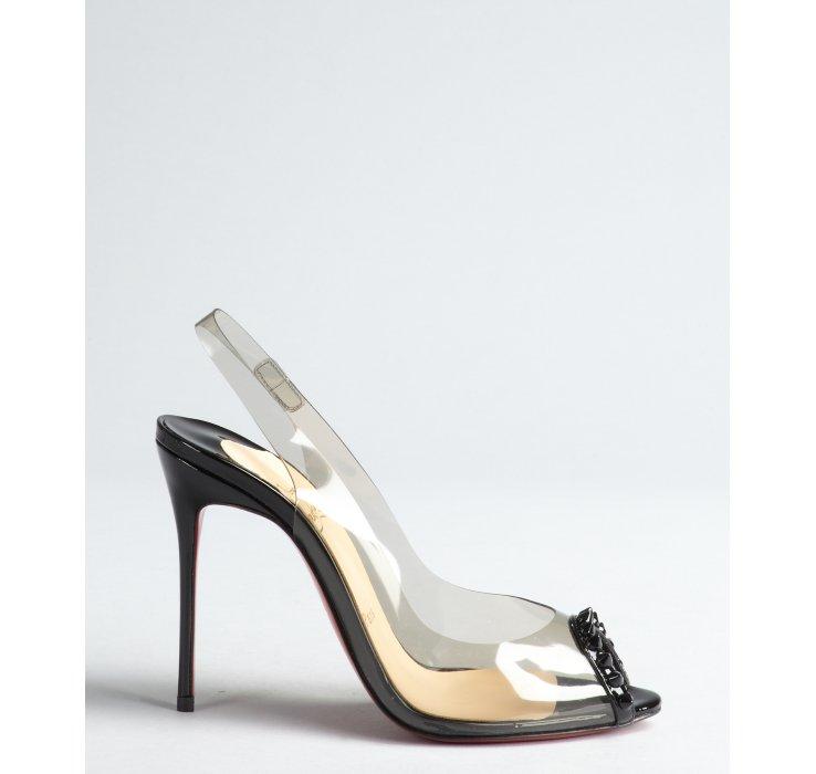 christian louboutin sandals Red woven PVC trim   cosmetics digital ...