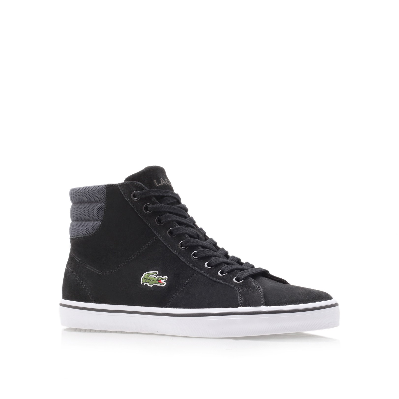 342f36f5f96123 ... lacoste black formal shoes ...
