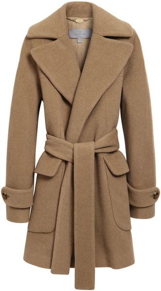 Mulberry Blanket Coat In Brown Camel Lyst