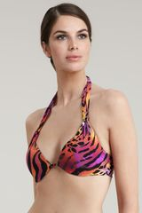 Natori Multicolor Animalprint Halter Top - Lyst