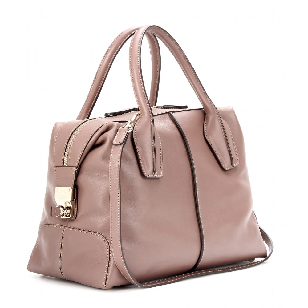 fbe65bc924 Tod's Dstyling Bauletto Small Leather Tote in Pink - Lyst