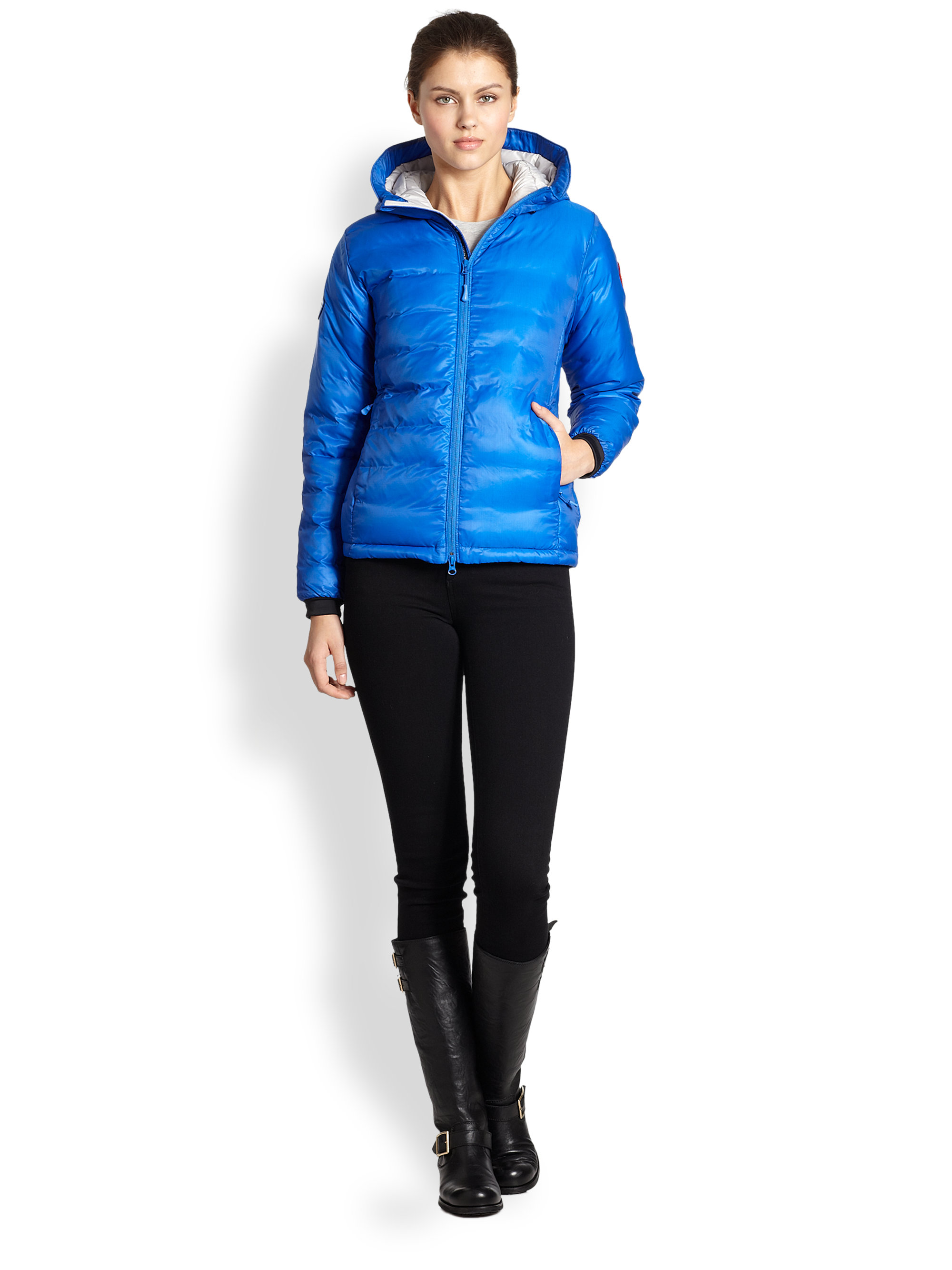 Women's Canada Goose' 'Pbi Camp' Packable Hooded Down Jacket