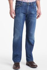 Citizens Of Humanity Sid Selvage Straight Leg Jeans - Lyst