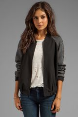 Elizabeth And James Rowland Jacket in Black - Lyst