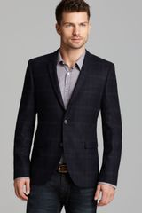 Hugo Boss Hugo Adris Plaid Blazer - Lyst