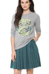 Matthew Williamson Embroidered Sweatshirt - Lyst
